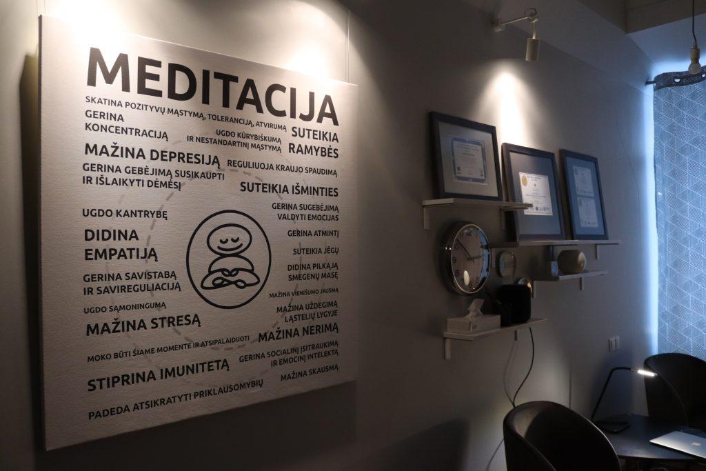 Meditacijos kursai Vilniuje
