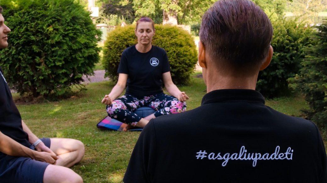 Meditacija naudinga ir tiems, kurie nemedituoja