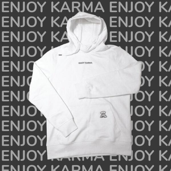 Baltas džemperis